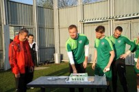TOMAS SIVOK - Antrenmanda Sürpriz Doğum Günü