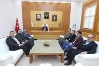 YıLMAZ ÖZTÜRK - Başkan Zeki Toçoğlu, Trabzonlular Derneği Başkanı Yılmaz Öztürk'ü Ağırladı