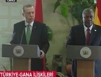GANA - Cumhurbaşkanı Erdoğan, Gana Cumhurbaşkanı Mahama ile basın toplantısı düzenledi