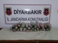 YAKIT DEPOSU - Diyarbakır'da 13 Kilo Esrar Ele Geçirildi