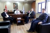 MUSTAFA ZENGİN - AK Parti Heyetinden Spor İl Müdürüne Ziyaret