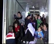 SARıKEMER - Jandarmadan Sığınmacılara Şefkat Eli