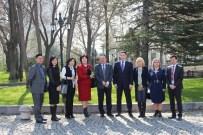 AYASOFYA MÜZESI - Kazakistan Kültür Bakanlığı Personeline Türkiye'nin Müzecilik Alanındaki Tecrübeleri Aktarıldı