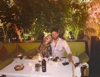 GİZEM KARACA - Gizem Karaca ile sevgilisinin birinci yıl kutlaması