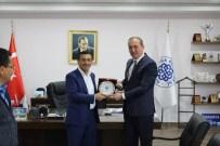 KARABIGA - Toprakkale Belediye Başkanı Demirci, Başkan Işık'ı Ziyaret Etti