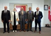 CEMİL ERTEM - Cumhurbaşkanı Başdanışmanlarından Rektör Şimşek'e Ziyaret