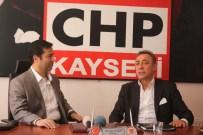 BERHAN ŞİMŞEK - 22. Dönem İstanbul Milletvekili Şimşek'den CHP İl Başkanlığı'na Ziyaret