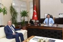 MUAMMER YıLDıZ - Saraydüzü Belediyesi'nden Başkan Külcü'ye Ziyaret