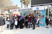 SIMURG - Simurg Öğrencilerinden Turistlere Ebru Dersi