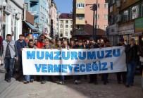SEYIT RıZA - Tunceli'de Baraj Protestosu