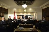 HASAN ÖZER - Avrupa Zonguldaklılar Derneği'nden Rektör Özer'e Ziyaret