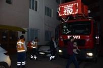 AKMESCIT - Eskişehir'de Kız Apartında Yangın
