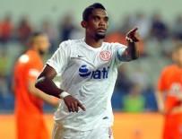 SAMUEL ETOO - Antalyaspor'un yüzü, Eto'o ile gülüyor