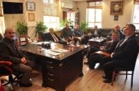 KAZıM ŞAHIN - Türkiye Yol Yapı İnşaat Sendikası Tosya Belediyesini Ziyaret Etti.