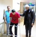 PROTEZ BACAK - Hastane Personeli Yaralı Türkmen Savaşçıya Protez Bacak Aldı