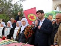 CENAZE TÖRENİ  - HDP'li vekiller terörist cenazesinde