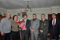 HALIL UZUN - Kaymakam Özarslan'dan Şehit Ailelerine Ziyaret