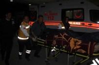 İşçileri Taşıyan Minibüs Devrildi Açıklaması 13 Yaralı