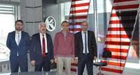 AHMET KARAKAYA - Yağız, Kardelen TV İstanbul Stüdyolarını Ziyaret Etti