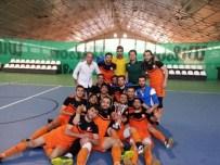 SALON FUTBOLU - İnönü Üniversitesi Salon Futbol Takımı 1.Lige Yükseldi