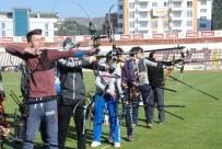DAVUT KAYA - Tokat'ta Okulsporları Okçuluk İl Birinciliği Yarışması