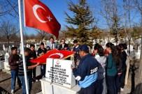 YAZıHÜYÜK - Yazıhüyük Kasabasında Şehitler Mezarları Başında Anıldı