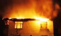 Başkentte Metruk Binada Yangın