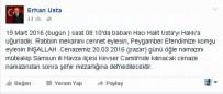 MHP Samsun Milletvekili Erhan Usta'nın Baba Acısı