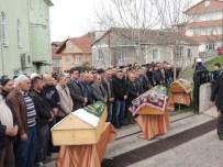 HISAREYN - Damat Dehşetinin Kurbanları Toprağa Verildi
