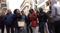 ZEYTIN DALı - Siyahi Vatandaşlar Olay Yerine Zeytin Dalı Bıraktı