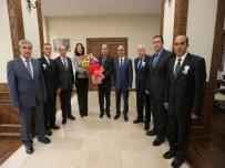HASAN KESKIN - Amasya Obm Yöneticilerinden Vali Çomaktekin'e Ziyaret