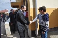 HÜSEYIN AYAZ - Başkan Ayaz, Okul Ziyaretlerine Devam Ediyor