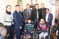 AHMET CAN PINAR - Müge Anlı Engellilere Tekerlekli Sandalye Hediye Etti