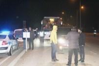 AHMET CAN PINAR - Polis Ve Jandarma Yol Kontrollerine Devam Ediyor