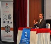 EROL GÜNGÖR - NEÜ'de Prof. Dr. Orhan Çeker Helal Gıda Konferansı Verdi
