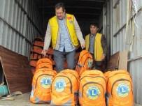 LIONS - Sığınmacılar İçin Hazırlanan Çantalar Sahil Güvenlik'e Ulaştı