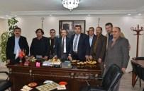 MEHMET ÇIÇEK - Başkan Ataç Esnaf Odaları Ziyaretlerini Sürdürüyor