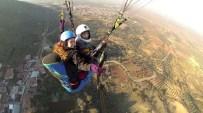ÇıNAROBA - Çınaroaba'da Yamaç Paraşütü Sporuna Başlandı