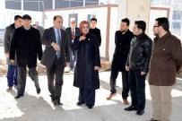 AHMET ÖZCAN - Meram'da Spor Kompleksi Hızla Yükseliyor