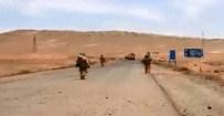 SURİYE DEVLET TELEVİZYONU - Suriye ordusu DAEŞ kontrolündeki Palmira'ya girdi