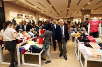 HAİN PUSU - Yenimahalle Belediye Başkanı Fethi Yaşar, AVM'leri Gezdi