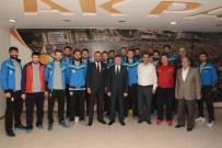 MAHMUT ÇELIKCAN - Adana Toros Byz Spor'dan Fikret Yeni'ye Teşekkür Ziyareti