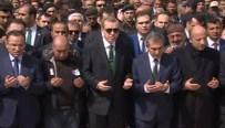 Şehit Cenazesine Erdoğan Da Katıldı