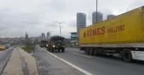 TEM OTOYOLU - TEM'de askeri konvoy