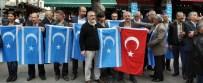 KAZIM ÖZALP - Antalya'da Türkmenlerden Tazehurmatu Tepkisi