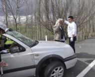 Seydişehir'de Trafik Kazası Açıklaması 1 Yaralı