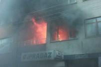 ELEKTRİK KAÇAĞI - Bafra'da Ev Yangını