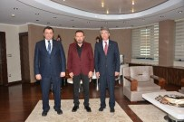 FATIH AKBULUT - KOÜ'den Başkan Doğan'a Ziyaret