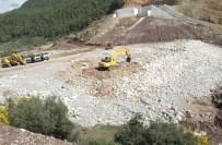 KARAÖZ - Aksu Karaöz Çepeli Barajı'nda Çalışmalar Devam Ediyor