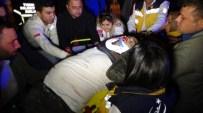AHıLı - Kırıkkale'de trafik kazası 1 ölü, 3 yaralı